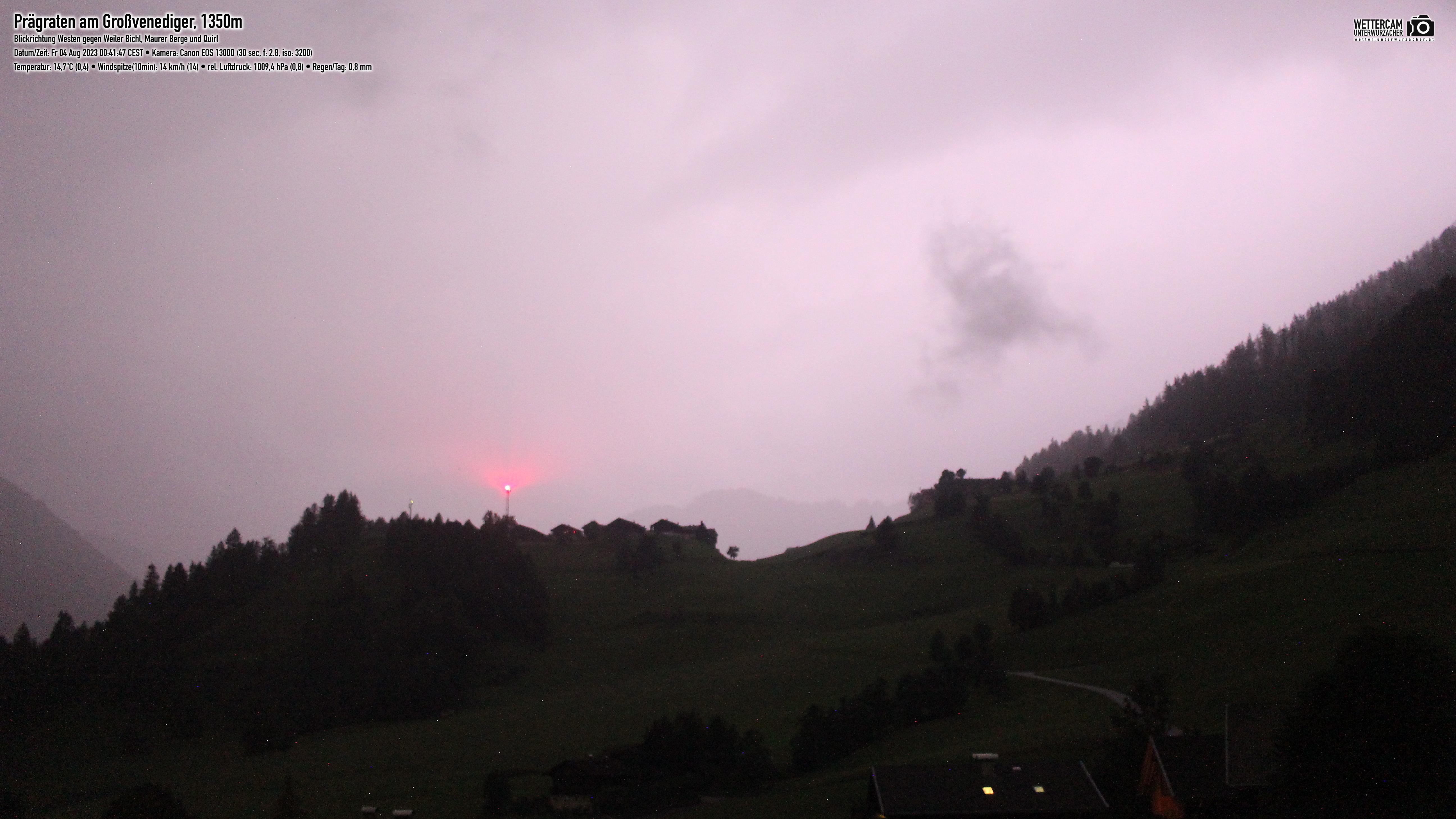 Webcam Prägraten Richtung Westen | Virgental