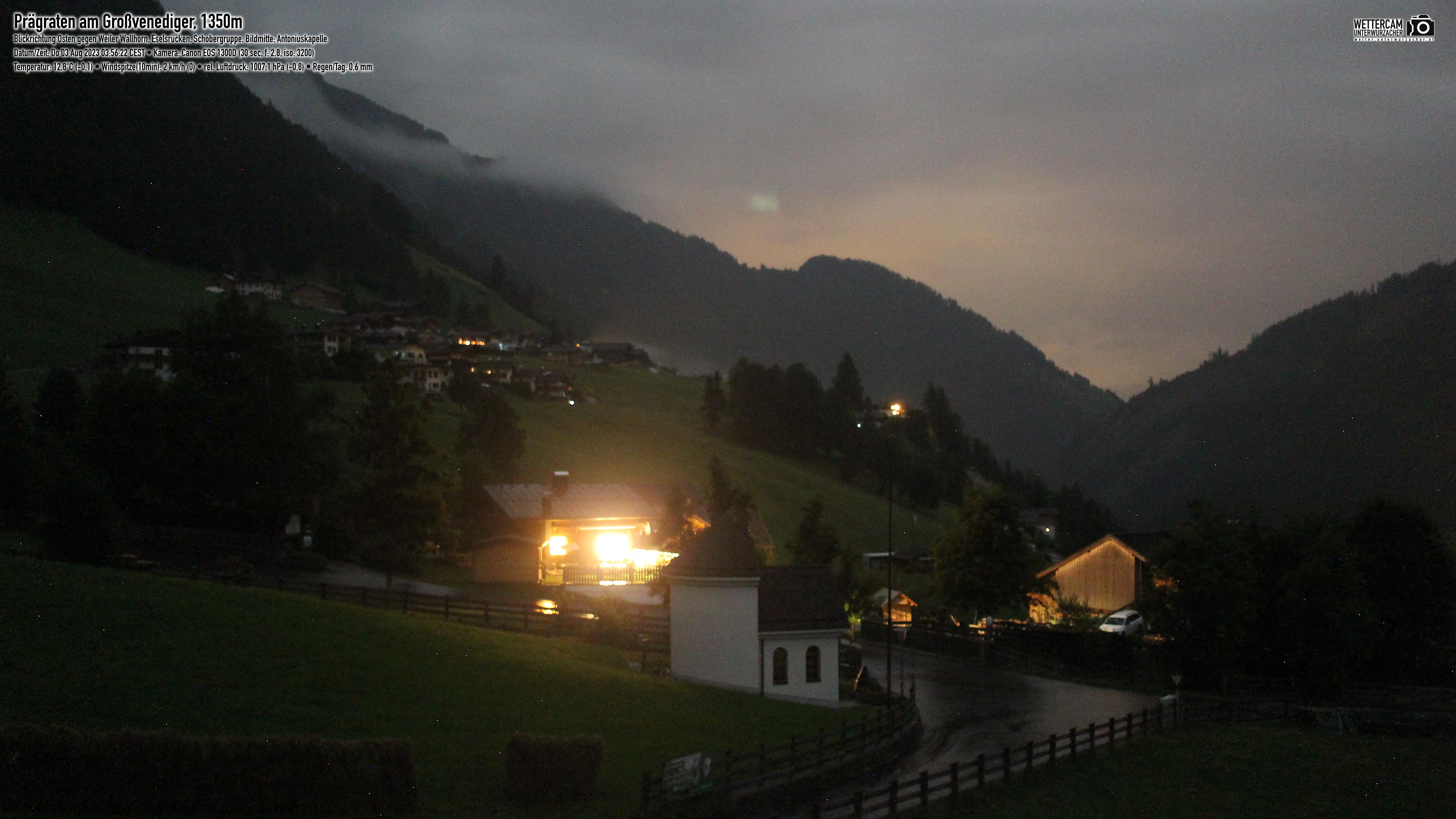 Webcam Prägraten Richtung Osten | Virgental